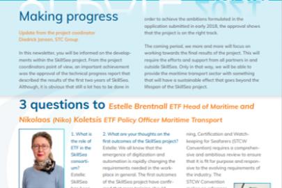 New edition of SkillSea's newsletter