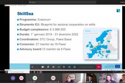 SkillSea presented to Italian maritime cluster